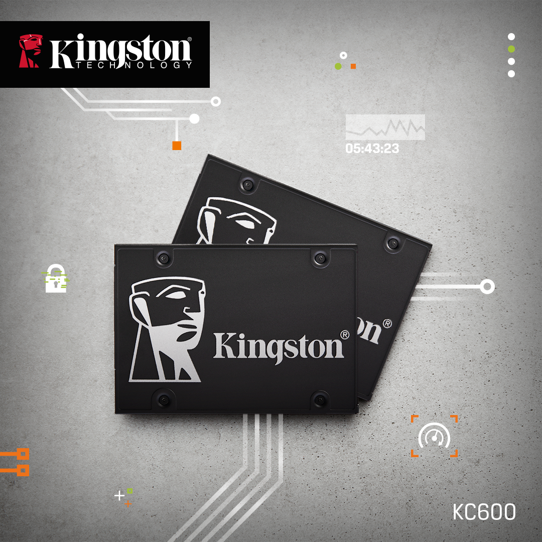 Kingston KC600 SSDs
