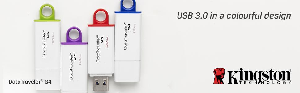Kingston's DataTraveler® Generation 4 (DTIG4) USB Flash drive