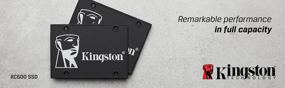 Kingston KC600 SSDs