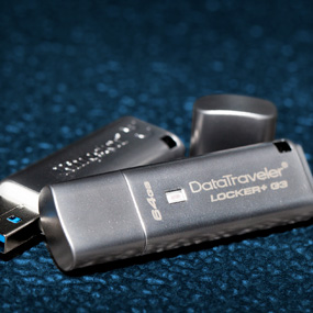 Kingston DataTraveler® Locker+ G3