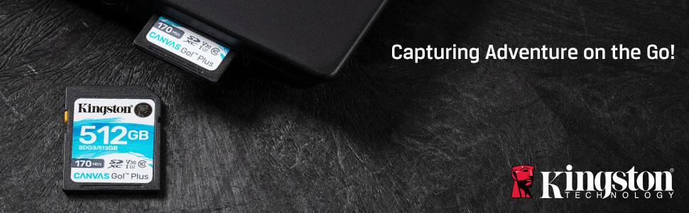 Kingston's Canvas Go! Plus SD cards