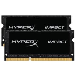HyperX Impact HX318LS11IBK2/16 Black 16GB (8GB x2) DDR3L 1866Mhz Non ECC Memory RAM SODIMM