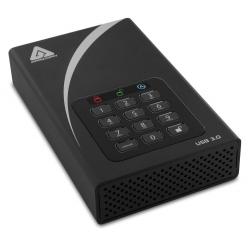 Apricorn Aegis DT 10TB External Portable Hard Drive, USB 3.0, Encrypted, Padlock