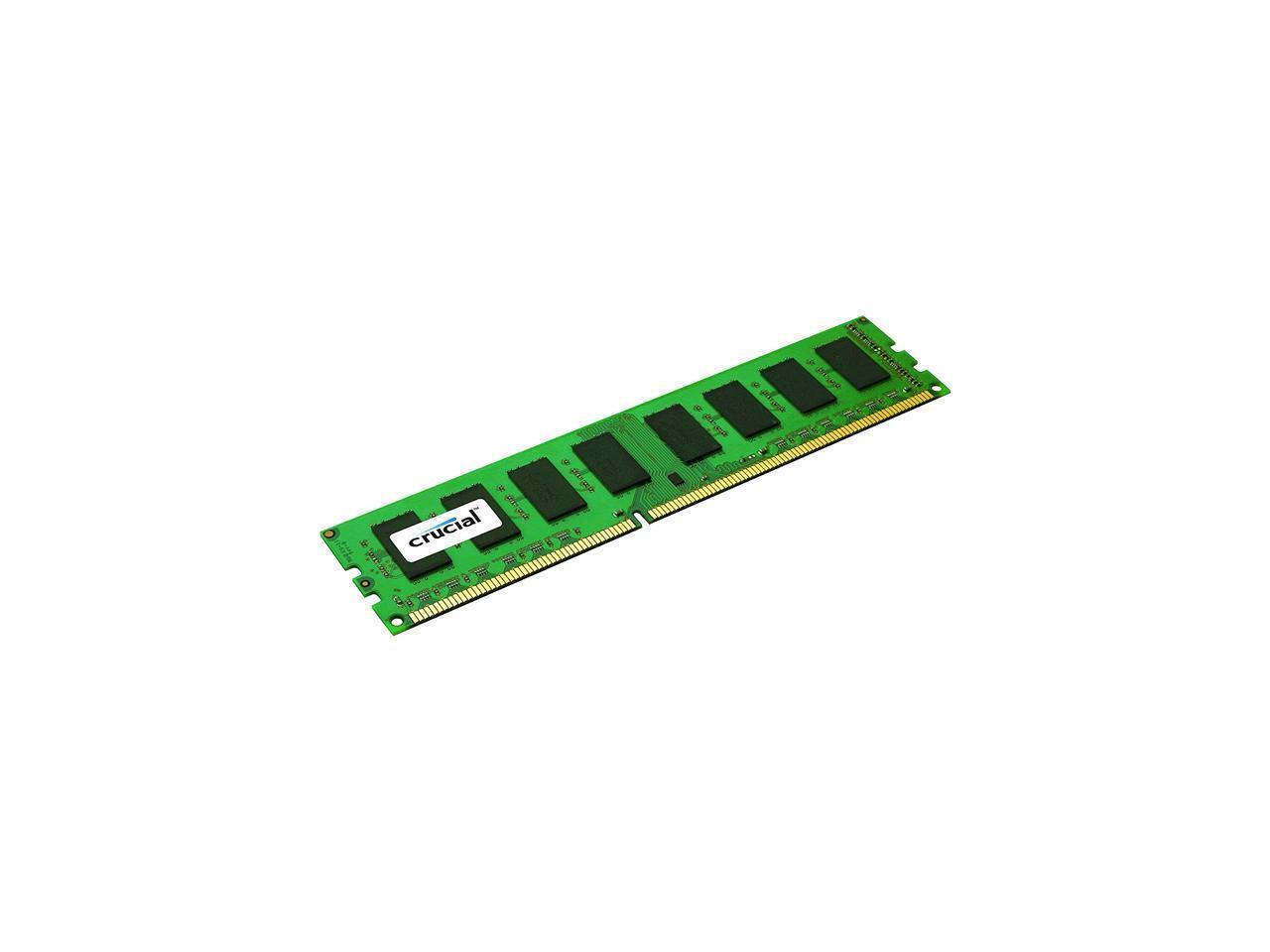 Crucial 8GB 21-1600 memory module 1 x 8 GB 1600 MHz ECC
