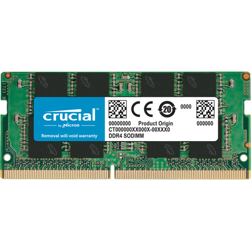 Crucial 16GB DDR4 memory module 1 x 16 GB 2400 MHz