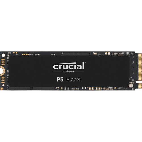Crucial P5 14 2000 GB PCI Express 3.0 3D NAND NVMe