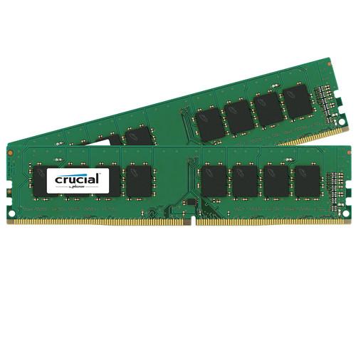 Crucial 2x16GB DDR4 memory module 32 GB 2400 MHz