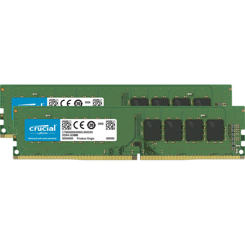 Crucial CT2K16G4DFRA266 memory module 32 GB 2 x 16 GB DDR4 2666 MHz