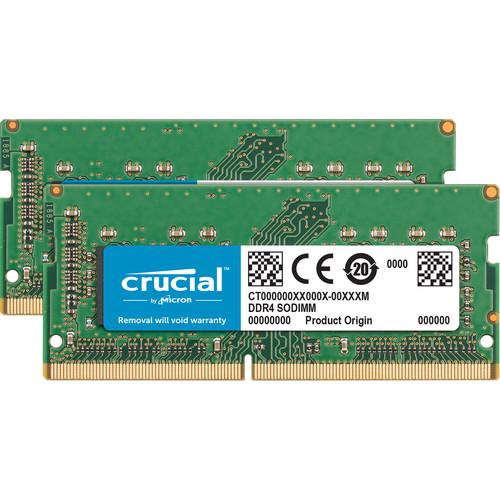 Crucial 32GB DDR4-2400 memory module 2 x 16 GB 2400 MHz