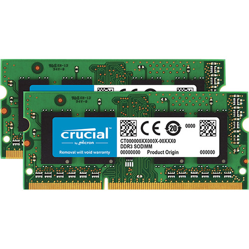 Crucial 4GB 21-1600 memory module 1 x 4 GB 1600 MHz