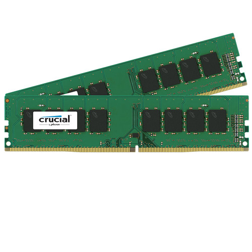 Crucial 16GB Kit (8GBx2) DDR4 memory module 2 x 8 GB 2400 MHz
