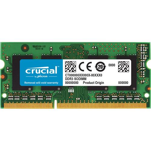 Crucial CT8G3S160BM memory module 8 GB 1 x 8 GB 21 1600 MHz