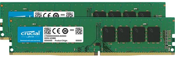Crucial CT2K16G4DFD832A memory module 32 GB 2 x 16 GB DDR4 3200 MHz