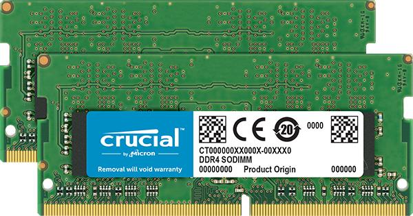 Crucial CT2K16G4SFD832A memory module 32 GB 2 x 16 GB DDR4 3200 MHz