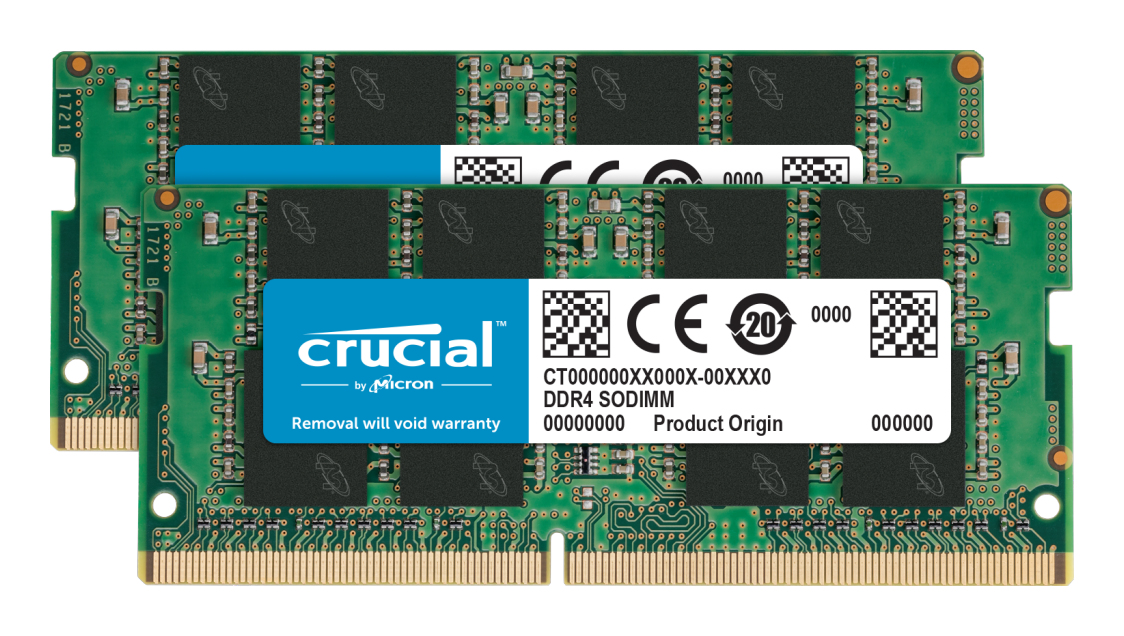 Crucial CT2K16G4SFRA266 memory module 32 GB 2 x 16 GB DDR4 2666 MHz