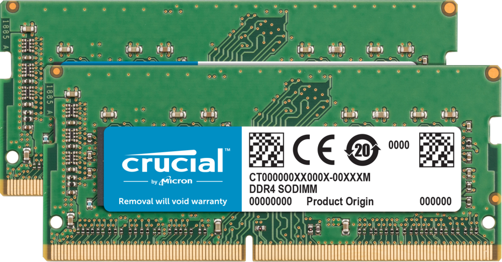 Crucial CT2K32G4S266M memory module 64 GB 2 x 32 GB DDR4 2666 MHz