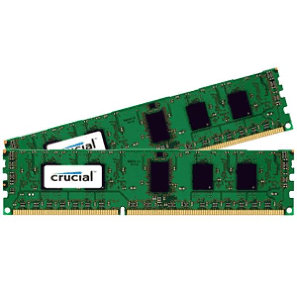 Crucial CT2K51264BD160B memory module 8 GB 2 x 4 GB 21 1600 MHz