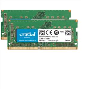 Crucial 16GB DDR4-2400 memory module 2 x 8 GB 2400 MHz