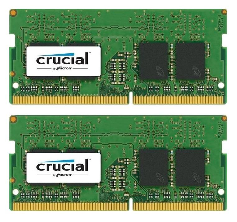 Crucial 16GB (2x8GB) DDR4 2400 SODIMM 1.2V memory module 2400 MHz
