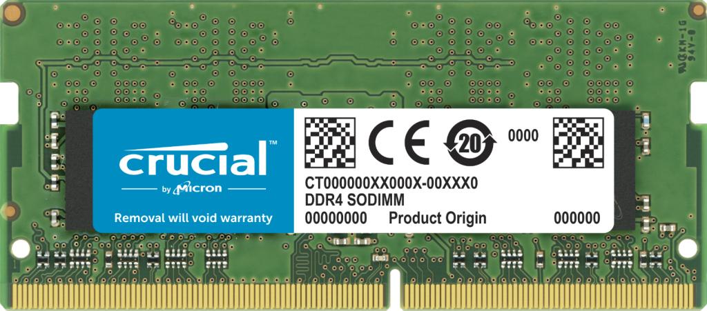 Crucial CT32G4SFD8266 memory module 32 GB 1 x 32 GB DDR4 2666 MHz