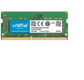 Crucial 8GB DDR4 2400 memory module 1 x 8 GB 2400 MHz