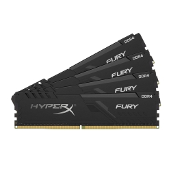 HyperX Fury HX430C15FB3K4/64 64GB (16GB x4) DDR4 3000MHz Non ECC Memory RAM DIMM