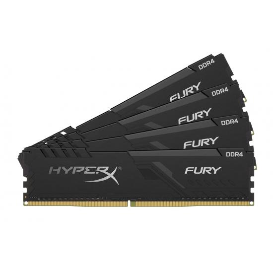 HyperX Fury HX430C15FB3K4/16 16GB (4GB x4) DDR4 3000MHz Non ECC Memory RAM DIMM