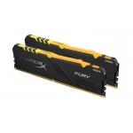 HyperX Fury RGB HX424C15FB4AK2/32 32GB (16GB x2) DDR4 2400MHz Non ECC Memory RAM DIMM