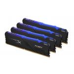 HyperX Fury RGB HX432C16FB3AK4/32 32GB (8GB x4) DDR4 3200MHz Non ECC Memory RAM DIMM