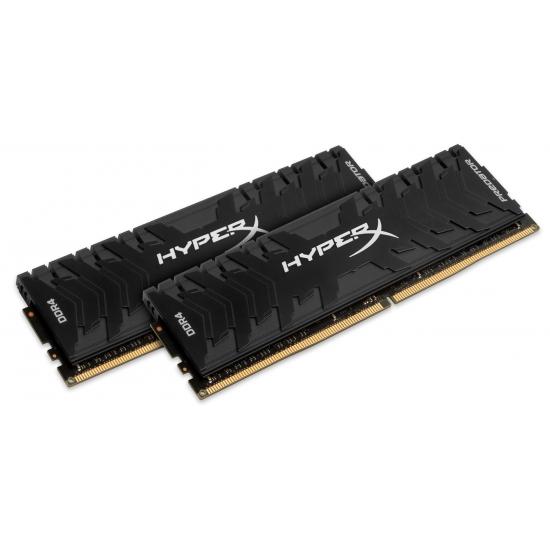 HyperX Predator HX432C16PB3K2/32 Black 32GB (16GB x2) DDR4 3200Mhz Non ECC Memory RAM DIMM