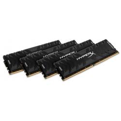 HyperX Predator HX436C17PB3K4/64 Black 64GB (16GB x4) DDR4 3600Mhz Non ECC Memory RAM DIMM