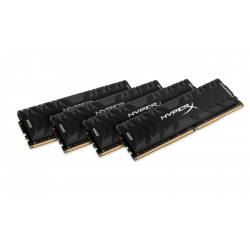 HyperX Predator HX432C16PB3K4/32 Black 32GB (8GB x4) DDR4 3200Mhz Non ECC Memory RAM DIMM