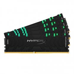 HyperX Predator RGB HX436C18PB3AK4/128 128GB (32GB x4) DDR4 3600Mhz Non ECC Memory RAM DIMM