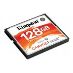 Kingston Canvas Focus 128GB Compact Flash (CF) Card 150MB/s R, 130MB/s W