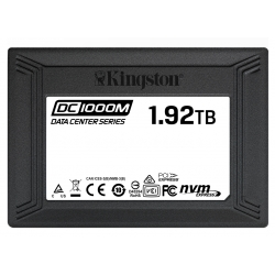 Kingston 1.92TB (1920GB) DC1000M SSD 2.5 Inch 7mm, U.2, NVMe, PCIe 3.0 (x4), 3100MB/s R, 2600MB/s W