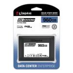 Kingston 960GB DC1000M SSD 2.5 Inch 7mm, U.2, NVMe, PCIe 3.0 (x4), 3100MB/s R, 1330MB/s W