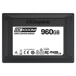 Kingston 960GB DC1000M SSD 2.5 Inch 7mm, U.2, NVMe, PCIe 3.0 (x4), 3100MB/s R, 1330MB/s W