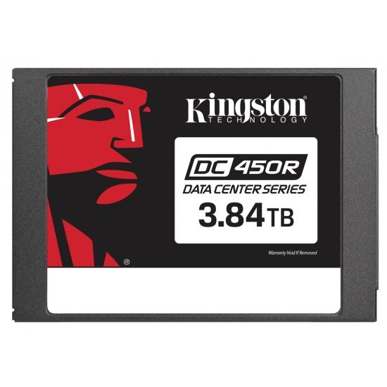 Kingston 3.84TB (3840GB) DC450R SSD 2.5 Inch 7mm, SATA 3.0 (6Gb/s), 3D TLC, 560MB/s R, 525MB/s W