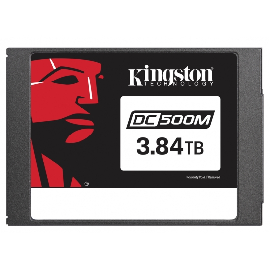 Kingston 3.84TB (3840GB) DC500M SSD 2.5 Inch 7mm, SATA 3.0 (6Gb/s), 555MB/s R, 520MB/s W