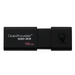 Kingston 16GB USB 3.0 DataTraveler DT100 G3 Memory Stick Flash Drive