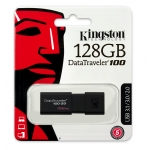 Kingston 128GB USB 3.0 DataTraveler Flash Drive, USB 3.0, 130MB/s