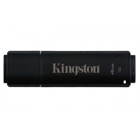 Kingston 4GB DT4000G2 Encrypted Flash Drive USB 3.0, 80MB/s