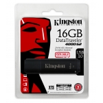 Kingston 16GB DT4000G2 Encrypted Flash Drive USB 3.0, 165MB/s