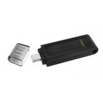 Kingston 128GB DataTraveler DT70 Type-C Flash Drive USB 3.2, Gen1, 80MB/s