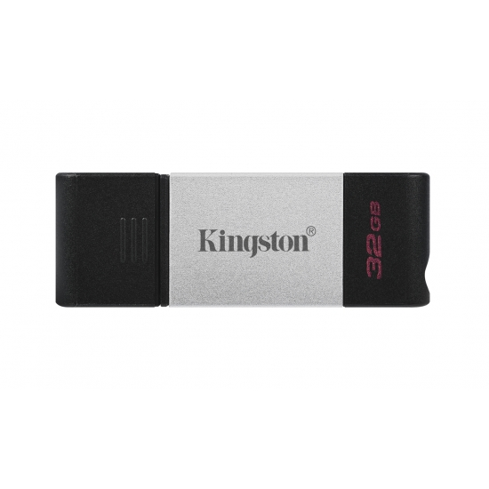 Kingston 32GB DataTraveler DT80 Type-C Flash Drive USB 3.2, Gen1, 200MB/s