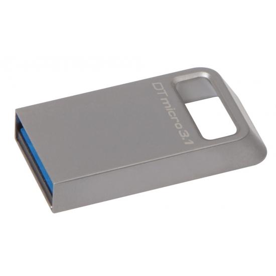 Kingston 128GB DataTraveler Micro Flash Drive USB 3.1, Gen1, 100MB/s