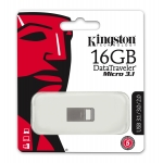 Kingston 16GB USB 3.1 DataTraveler Micro Memory Stick Flash Drive