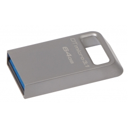 Kingston 64GB DataTraveler Micro Flash Drive USB 3.1, Gen1, 100MB/s