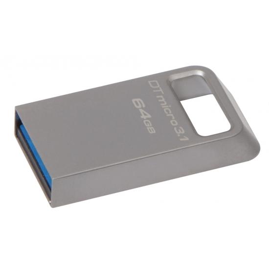 Kingston 64GB DataTraveler Micro Flash Drive USB 3.1, Gen1, 100MB/s