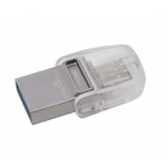 Kingston 32GB DataTraveler MicroDuo Flash Drive USB 3.1, Gen1, 100MB/s